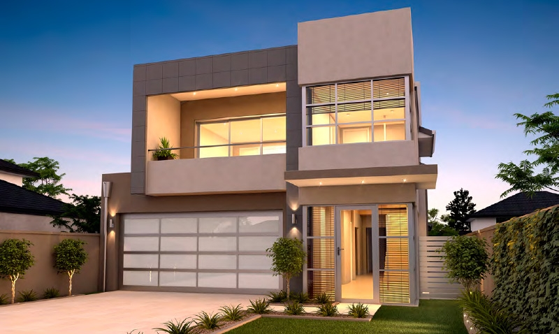 Narrow Lot Homes Perth 2 Storey Home Design Rosmond