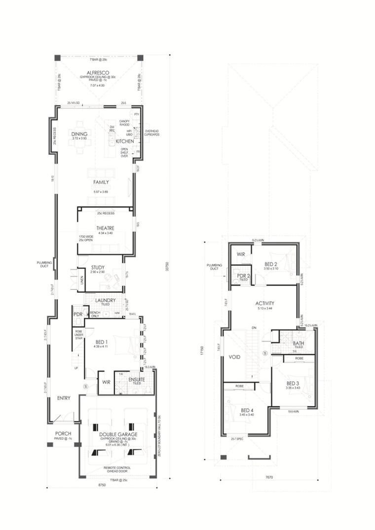 Calista floor plan