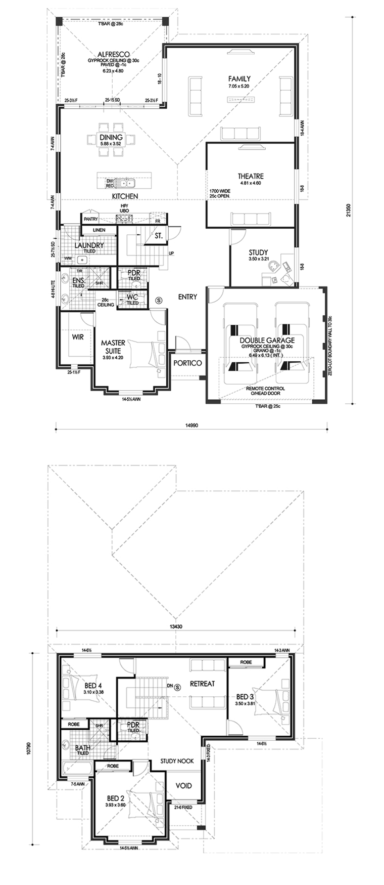 Highland floor plan