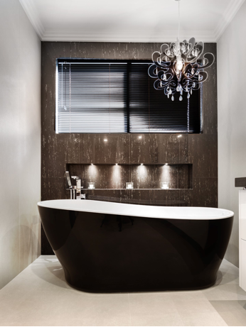 Style Trends: The New Black in the Bathroom