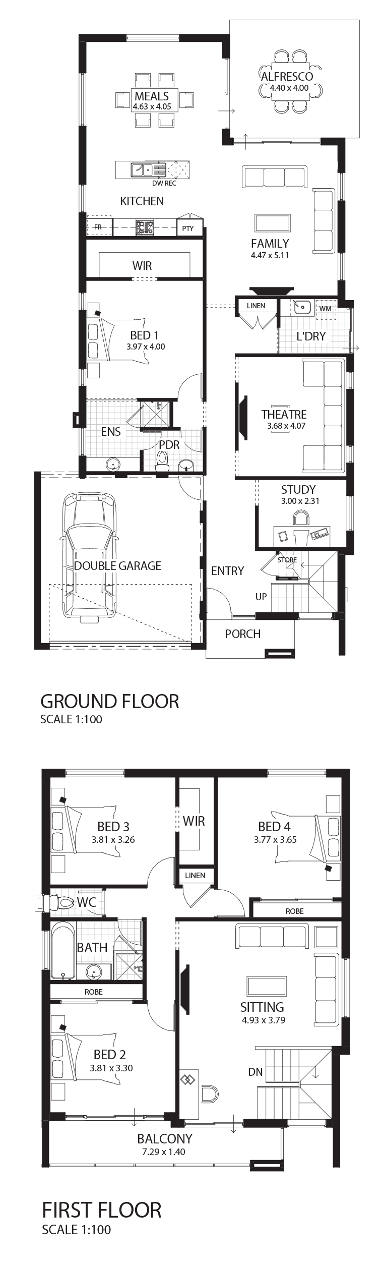 Montecello floor plan