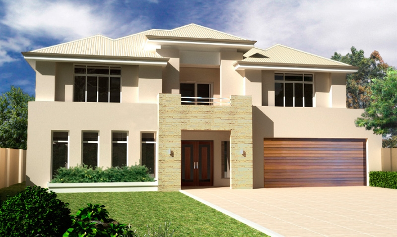 20 best two storey modern house design crimson housing for Best two story house plans 2016