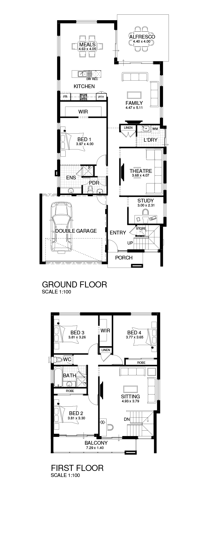 Atlanta floor plan