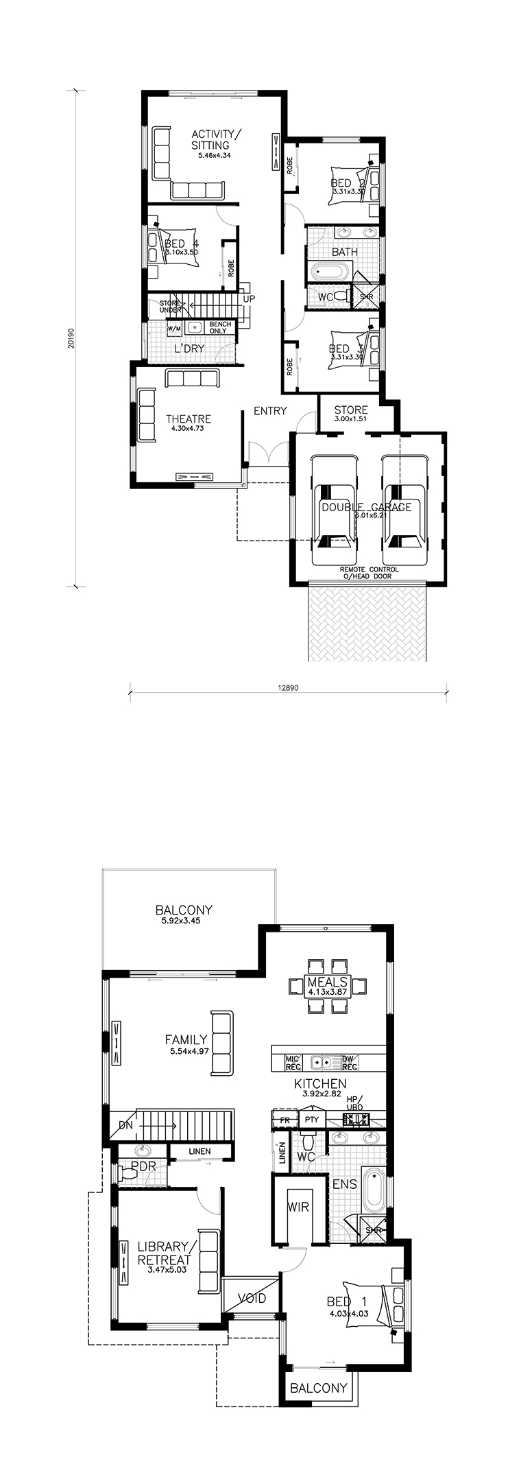 Nautilus floor plan